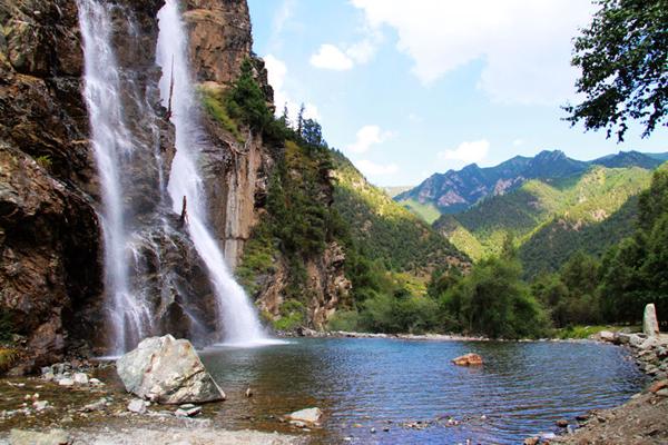 青海互助北山国家森林地质公园