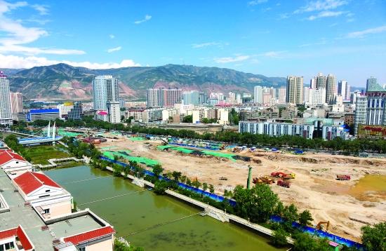 这项工程不仅打造西宁市区中部沿南川河的城市新景观,将有力的提图片