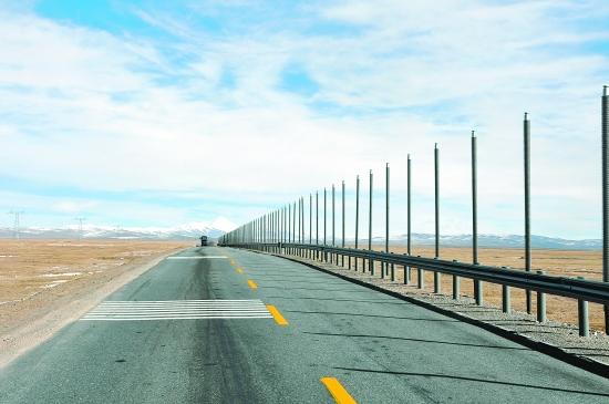 我省公路建设高速发展