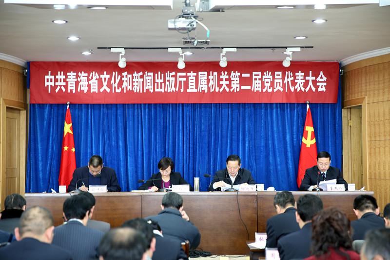 中共青海省文化和新闻出版厅直属机关第二届党员代表大会胜利召开