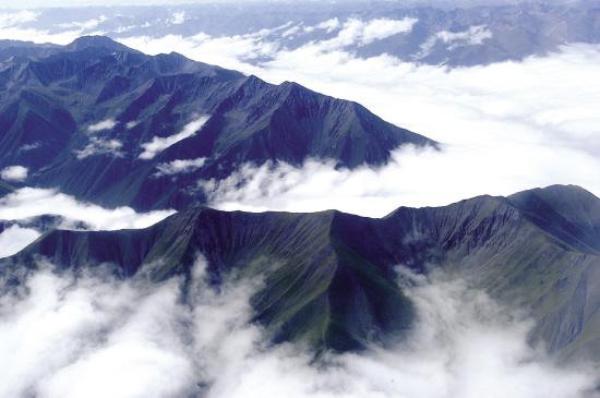 三江源 山山相连 绝美之地