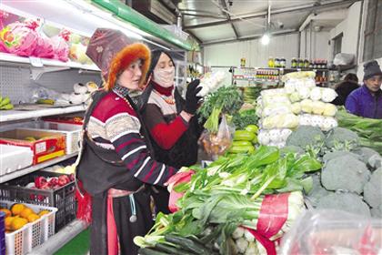 新春走基层:寒冬时节看藏区民生改善