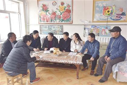 """万名干部在一线:东山村酝酿发展""""大计划"""""""