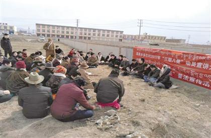 """和谐藏区行:牧民欢迎的""""百姓宣讲团"""""""