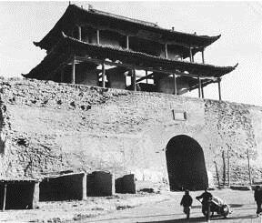 老西宁:西宁卫城的四座城门