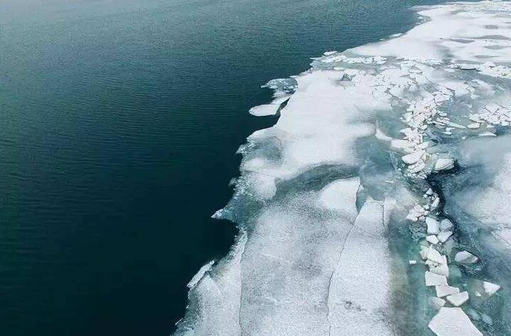 卫星遥感监测显示青海湖已完全解冻 解冻期较近10年平均提前44天