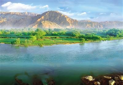生态青海:祁连山下好牧场