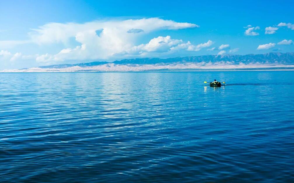 青海湖面积达到17年来最大值