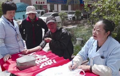 让辖区老年人感受到党和政府的关怀