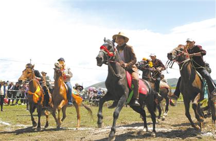 苏吉滩,一个充满温馨的牧业乡