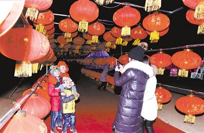 """红红火火过个""""文化""""年"""