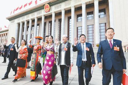 新青海,我们来了——我省代表出席十三届全国人大一次会...