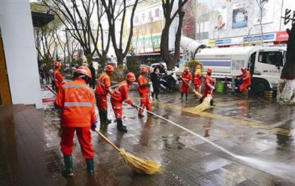 3000人开展大清洗让城市更清洁
