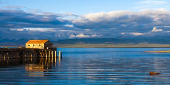 青海湖面积达近18年来同期最大值
