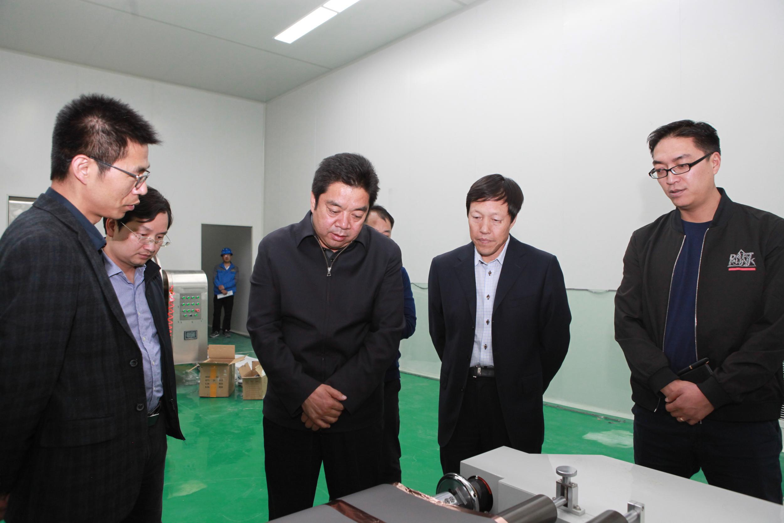 李永平同志深入德令哈工业园调研督查企业运行和项目建设工作