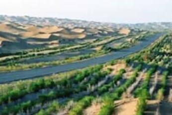 """海西荒漠化土地9年""""削减""""2.82万公顷"""