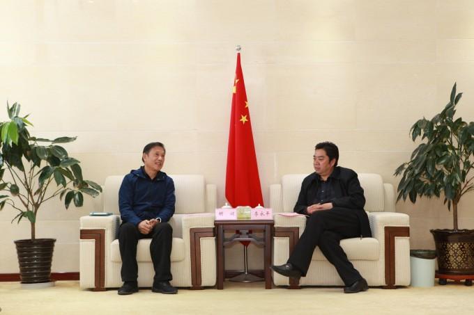 李永平会见浙江新化化工股份有限公司董事长胡健一行