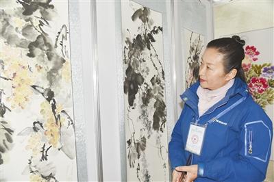 """农牧民书画摄影展在乐都举行描绘""""三农""""新风尚 讴歌乡村..."""