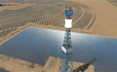 我省不断强化技术创新 推动新能源产业发展