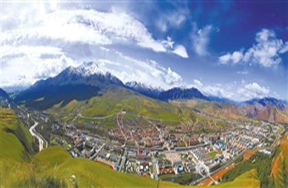 从一座山到一座城 天境祁连铺开全域旅游新画卷