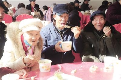 石头磊新村老人们的幸福生活