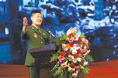武警青海總隊舉行紀念五四運動專題演講比賽