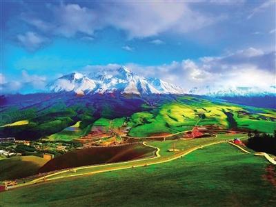 【生态观察】祁连山下的生态画卷