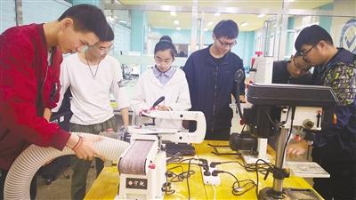 西北首家中职创新教育实训基地正式启动