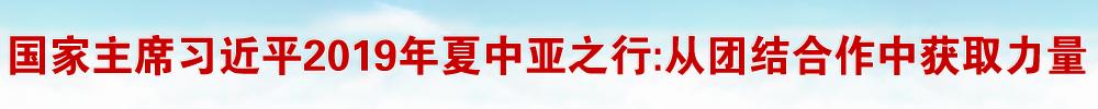 """""""从团结合作中获取力量"""" ——记国家主席习近平2019年夏中亚之行"""