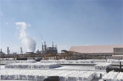 盐湖上高矗不朽的丰碑——盐湖工业蹲点报告(上篇)