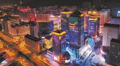 西宁市城西区现代商务商贸集聚区加速崛起