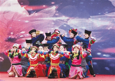 大通县第十届老爷山花儿会开幕