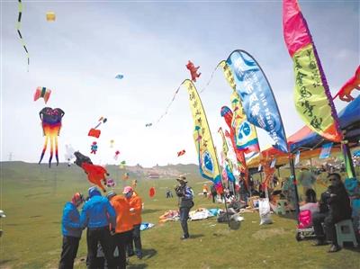 2019全國風箏邀請賽暨西寧市第十一屆高原風箏挑戰賽開幕