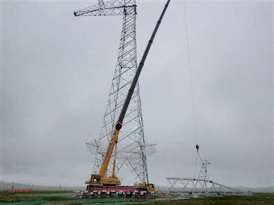 青海—河南特高壓工程進入立塔施工階段