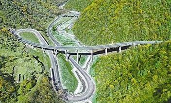 扎碾公路——生态样板路