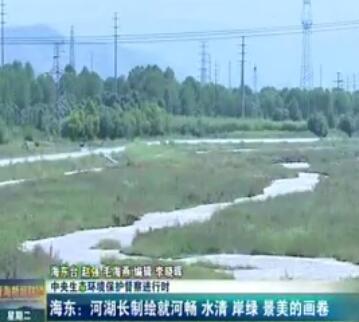 海东:河湖长制绘就河畅 水清 岸绿 景美的画卷