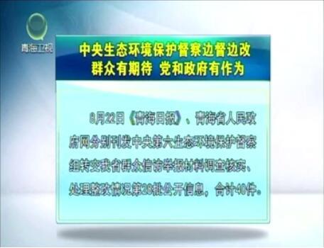 中央生态环境保护督察边督边改第28批公开信息