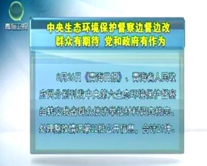中央生态环境保护督察边督边改第32批公开信息