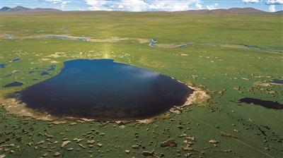 守护黄河源头的青山绿水