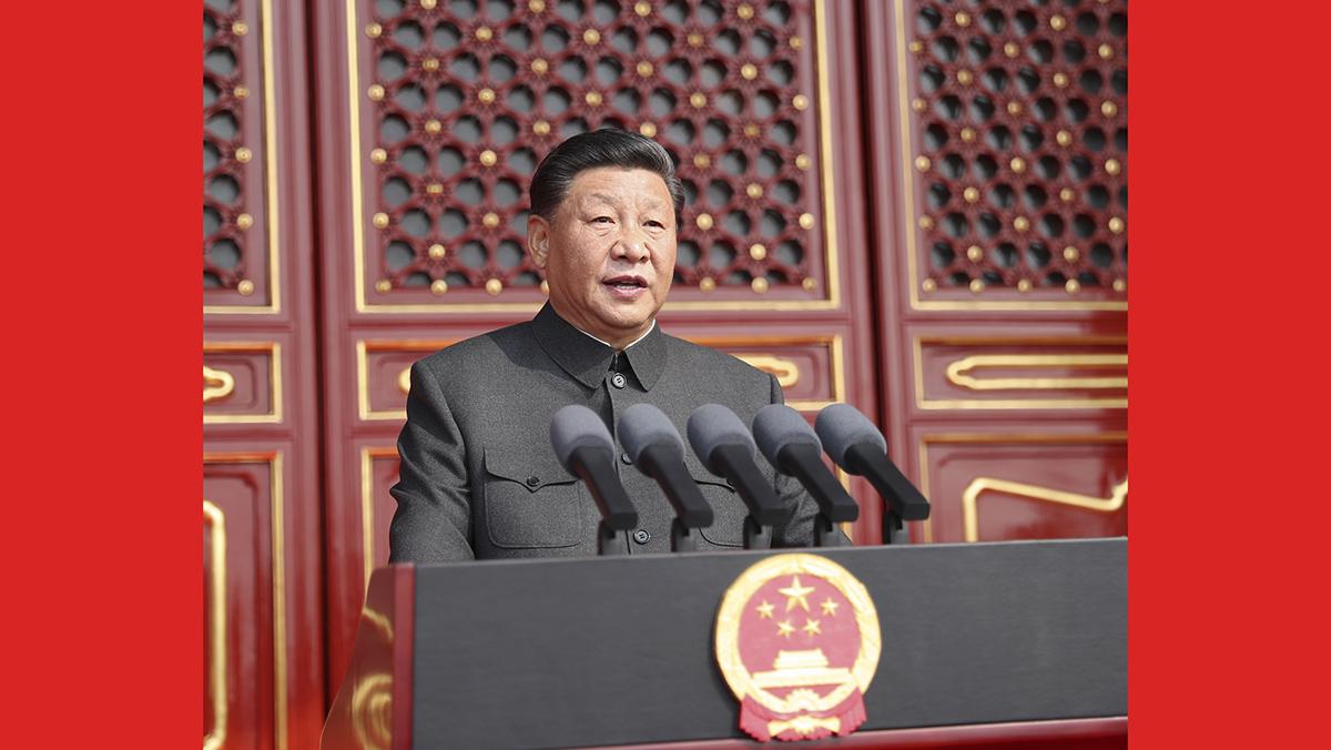 庆祝中华人民共和国成立70周年大会在京隆重举行(一)