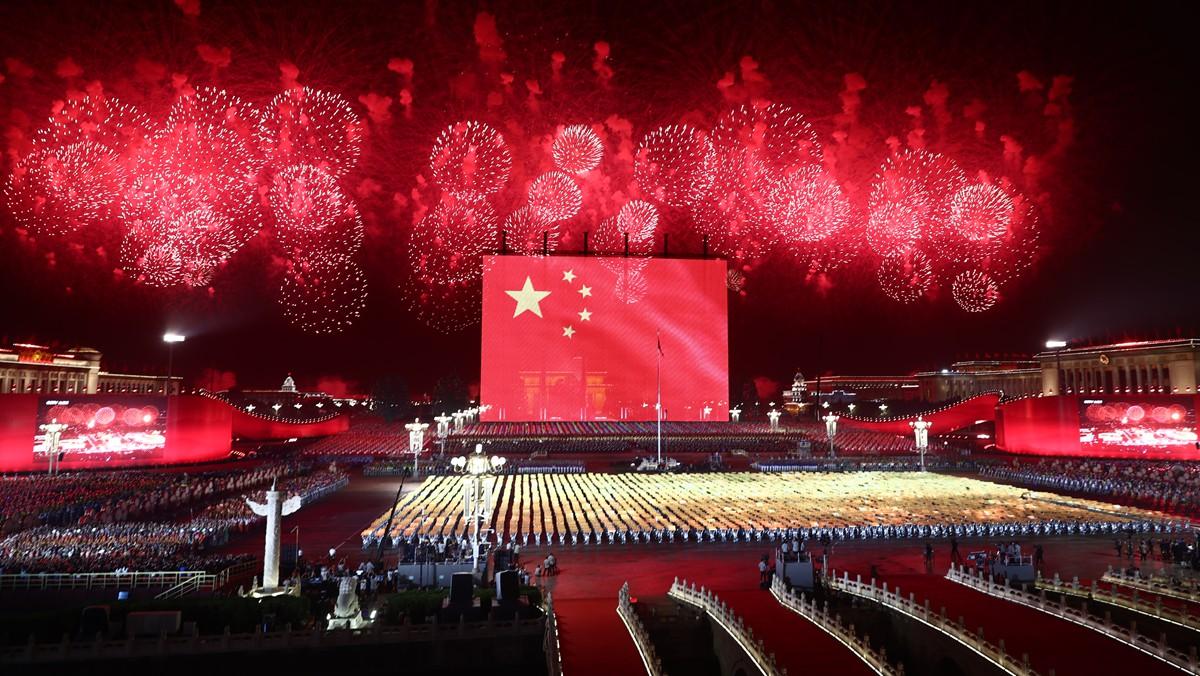 庆祝中华人民共和国成立70周年联欢活动在京举行(一)