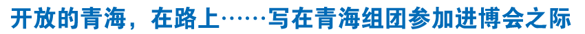 开放的青海,在路上……——写在青海组团参加第二届中国国际进口博览会之际