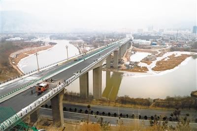 川海大橋預計月底前通車