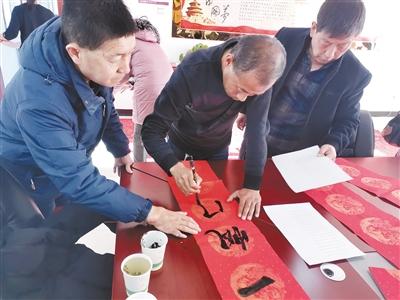 刚察县开展送文化送祝福系列活动