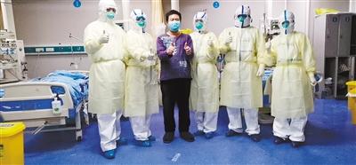 """战""""役""""连线:青海医疗救援队在武汉"""