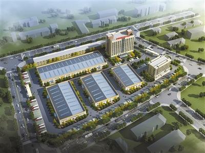 化隆:投资13个亿的拉面产业园复工