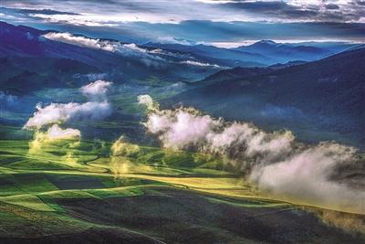 祁连山深处的最美风景