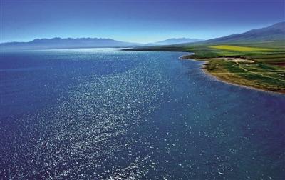 """青湖之大,是洁净的""""高原蓝""""——走进青海湖系列报道之一"""