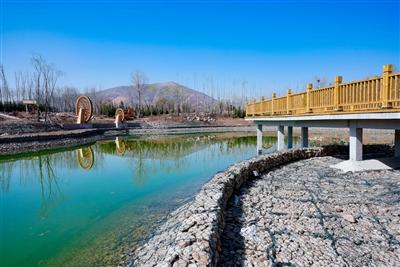 今年治理20条河沟道治出水清岸绿景美