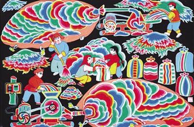 绽放在河湟谷地的绚烂山花——记湟中县农民画家党明汉